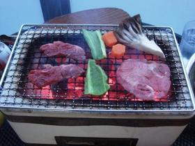 七輪_焼き肉.JPG